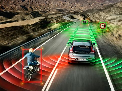 Một số hệ thống an toàn trên xe Volvo.