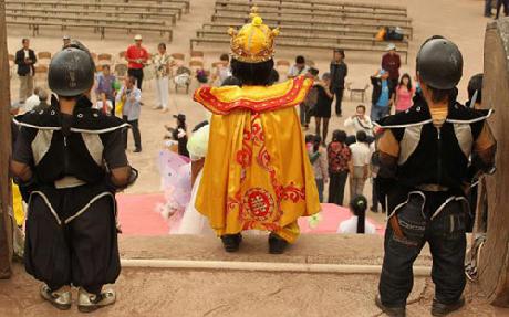 """""""Vương quốc người lùn"""" ở Trung Quốc"""