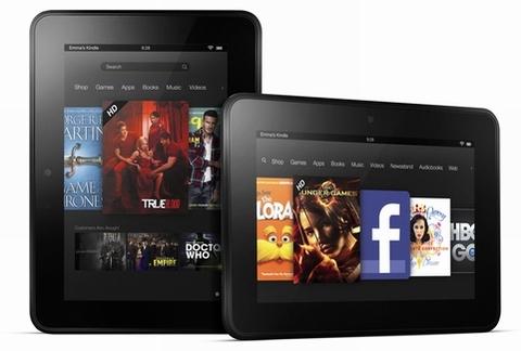 Amazon Kindle Fire HD | Top 5 máy tính bảng tốt nhất hiện nay