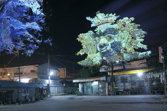 Kinh ngạc tượng 3D từ...cây và ánh sáng | Chuyện lạ (3)