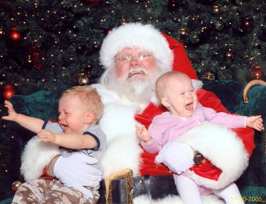 Ảnh vui ông già Noel (5)