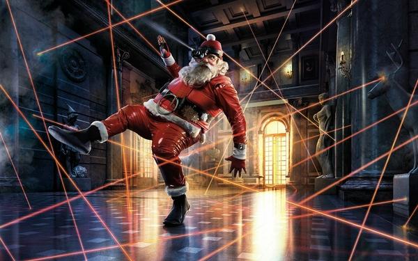 Ảnh vui ông già Noel (4)