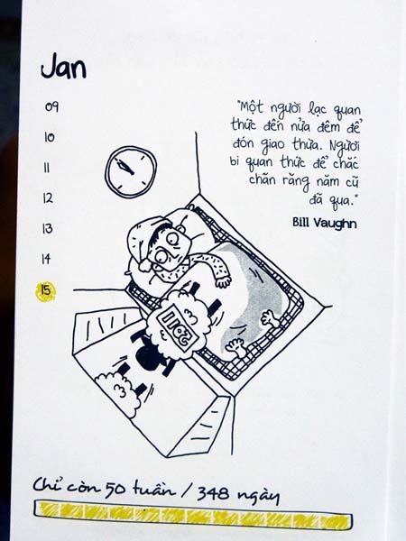 Bộ lịch đếm ngược ngày tận thế độc đáo của giới trẻ (7)
