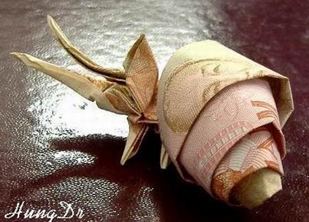 Nghệ thuật gấp tiền Việt đỉnh cao (11)