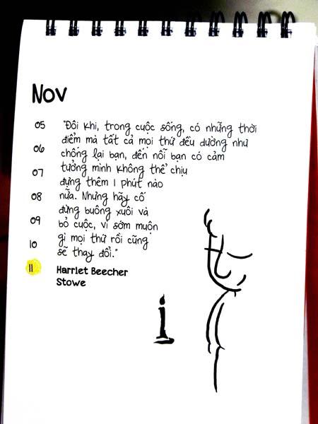 Bộ lịch đếm ngược ngày tận thế độc đáo của giới trẻ (2)