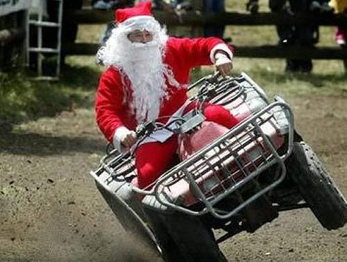 Ảnh vui ông già Noel (1)