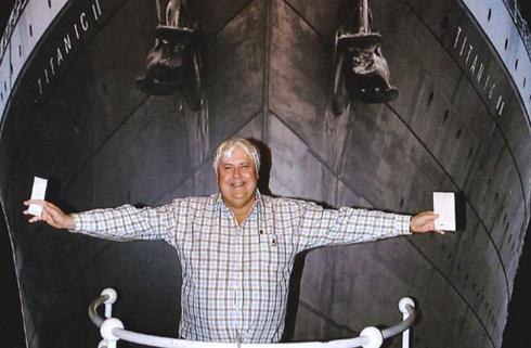 Tỷ phú khai mỏ Australia Clive Palmer. Ảnh: Huffington Post