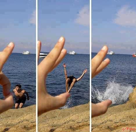 Một ý tưởng chụp ảnh cho những bạn thích nghịch ngợm một chút