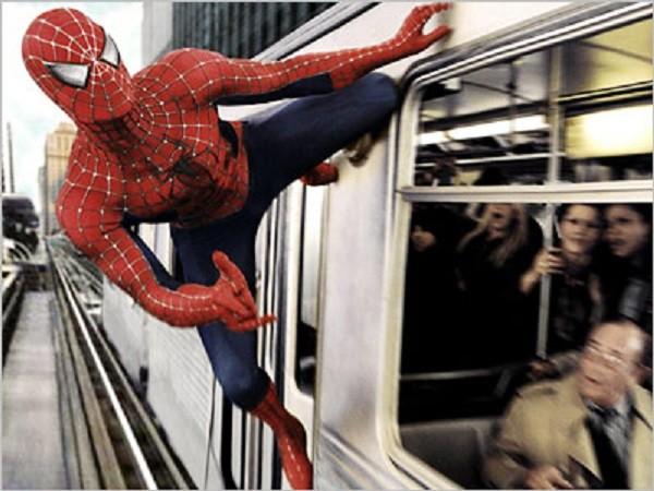 Cảnh trong film người nhện