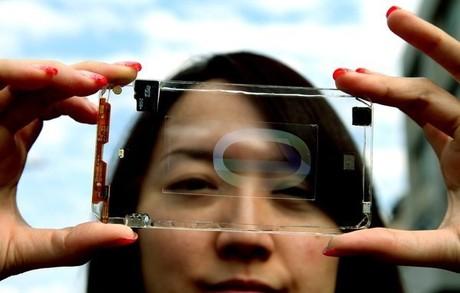 Polytron Technologies - Điện thoại trong suốt