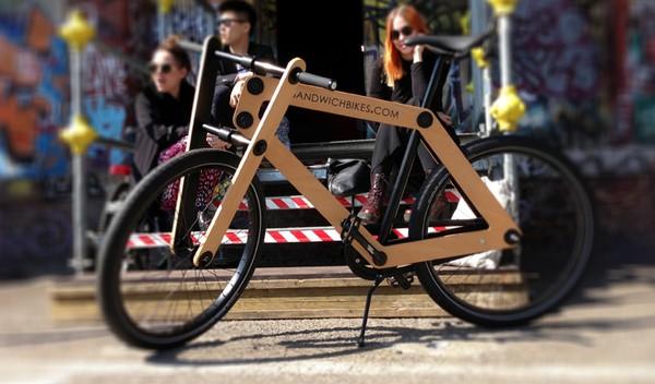 Sandwichbike - chiếc xe đạp lắp ghép độc đáo (3)