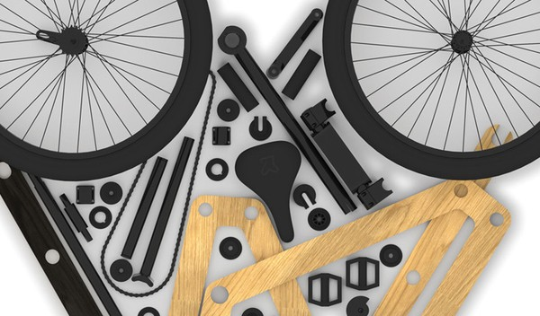 Sandwichbike - chiếc xe đạp lắp ghép độc đáo (2)