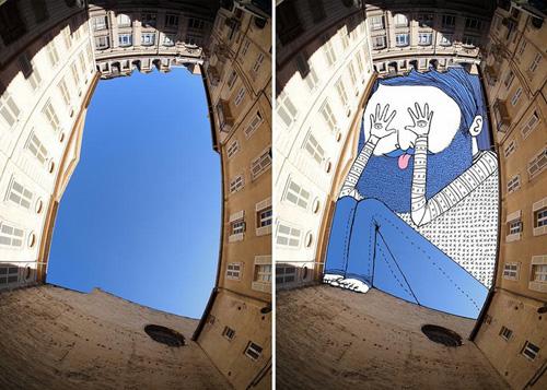 Nghệ thuật đỉnh cao: Vẽ lên bầu trời (10)