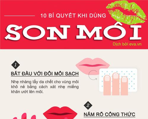 10 mẹo hay khi dùng son môi (4)