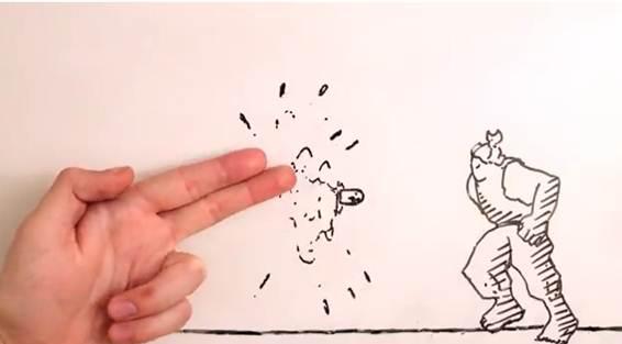 [Video] cuộc chiến siêu nhân và rắn tay