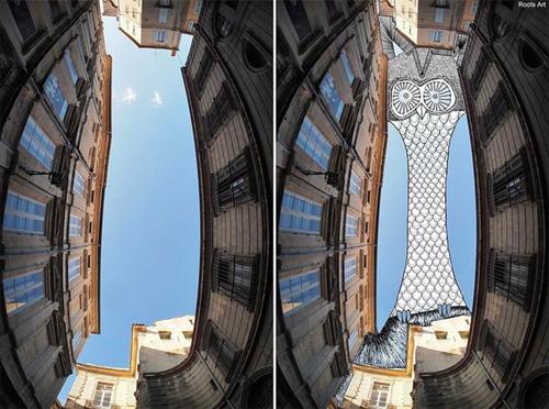 Nghệ thuật đỉnh cao: Vẽ lên bầu trời (6)