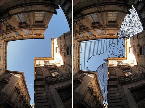Nghệ thuật đỉnh cao: Vẽ lên bầu trời (2)