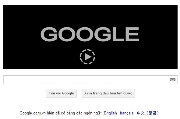 Logo Google ngày 08-05-2013