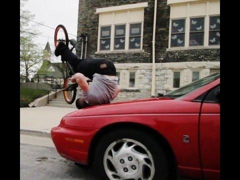 Màn trình diễn với xe đạp siêu đỉnh (2)