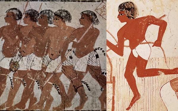 """Binh lính Ai Cập cổ đại mặc một chiếc quần có hình dạng giống với """"chiếc khố"""""""