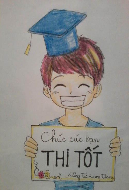 Ảnh chế hài hước mùa thi tốt nghiệp THPT 2013
