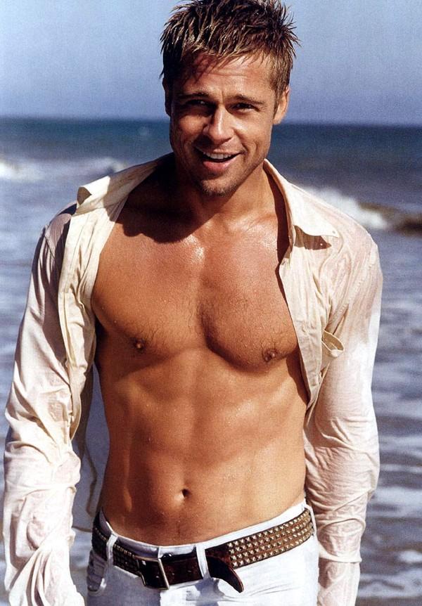 Hình ảnh một Brad Pitt phong trần, lãng tử những năm tháng trẻ tuổi