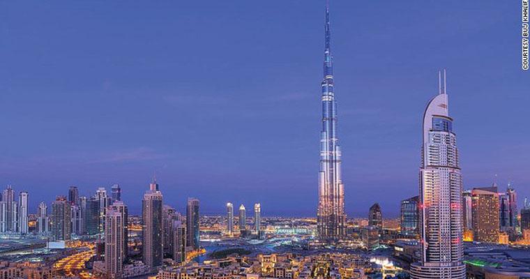 Tòa nhà Burj Khalifa cao nhất thế giới