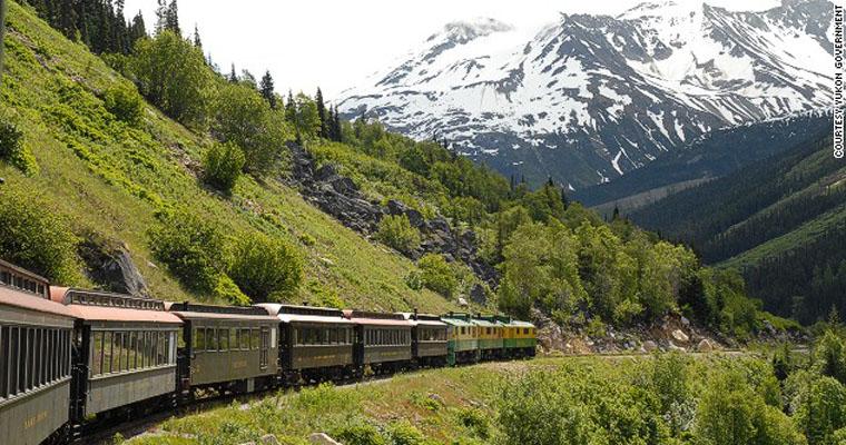 Tuyến đường sắt băng qua đường mòn Yukon và đèo Trắng, Canada