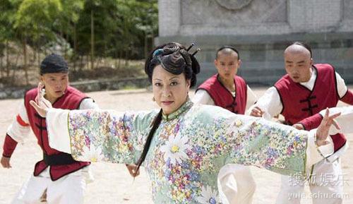 Nguyên Thu trong bộ phim truyền hình Cái thế anh hùng Phương Thế Ngọc.
