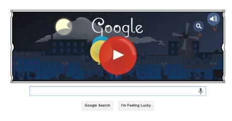 Claude Debussy - Logo Google 22-05-2013
