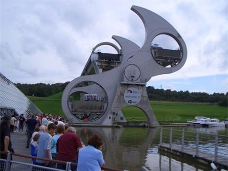 Falkirk Wheel được sử dụng nhiều để tham quan nhiều hơn những tính năng khác
