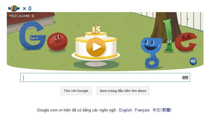 Logo Google hôm nay 27-09-2013