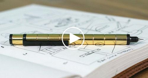 Bút bi nam châm Polar Pen nhiều công dụng