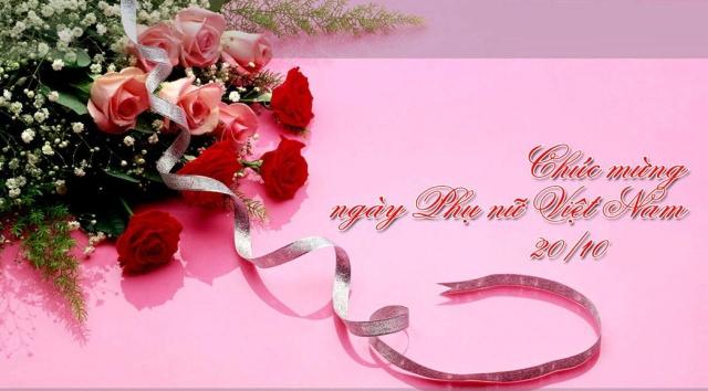 Thiệp đẹp cho ngày Phụ nữ Việt Nam 20-10 (2)