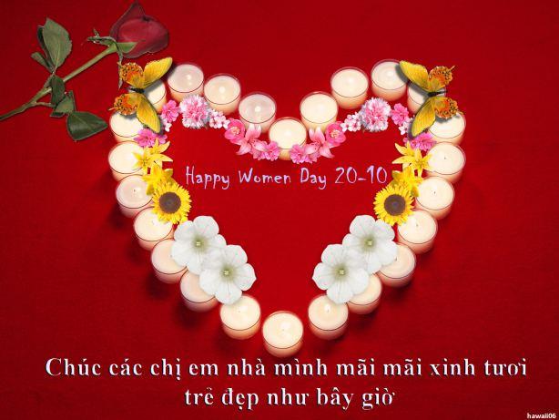 Thiệp đẹp cho ngày Phụ nữ Việt Nam 20-10 (11)