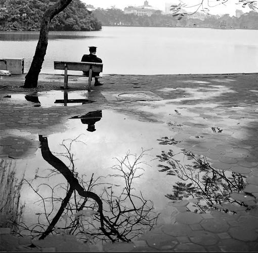 'Sau cơn mưa'. của tác giả Lâm Phúc.
