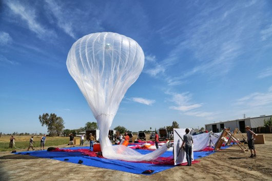 Khinh khí cầu Wi-fi của Google