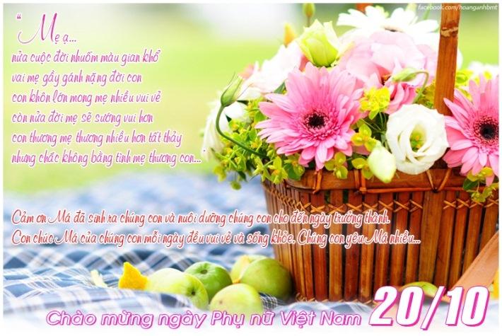 Thiệp đẹp cho ngày Phụ nữ Việt Nam 20-10 (15)