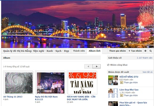 Group Facebook Đà Nẵng
