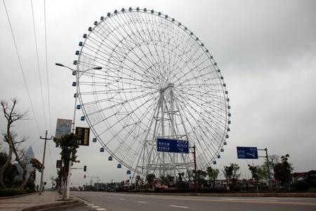 Vòng đu quay The Star of Nanchang, TP. Nam Xương, Trung Quốc, cao 160 mét