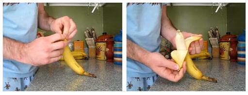 Cách bóc chuối đúng chuẩn ;))