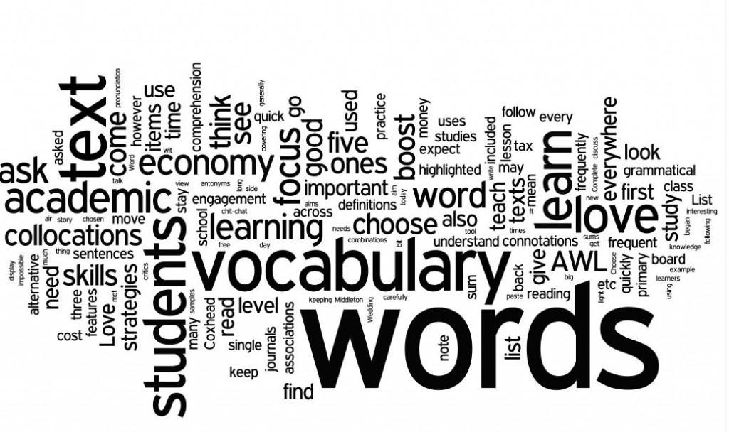 Từ vựng trong tiếng Anh