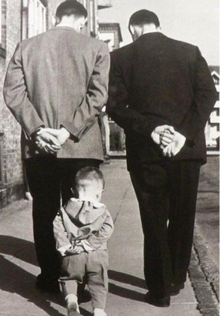 Ảnh vui: Cha nào con nấy (7)