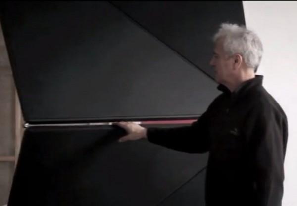 Độc đáo cánh cửa công nghệ với nghệ thuật origami