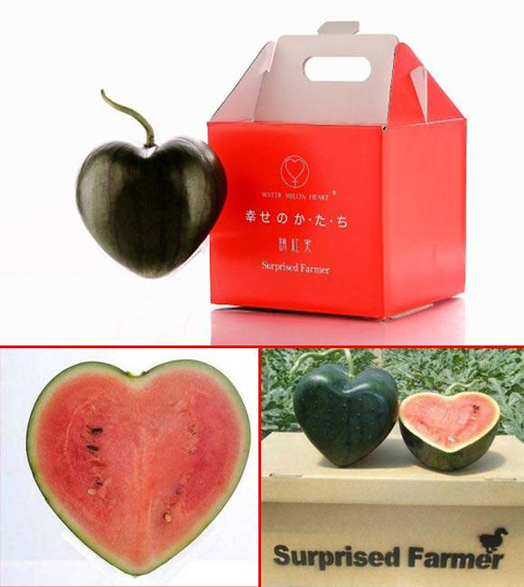 Rau củ hình trái tim đặc biệt cho Valentine