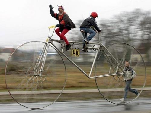 Lạ mắt với những chiếc xe đạp siêu độc đáo (9)