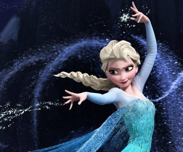 trên thực tế tóc của Elsa có 420.000 sợi, còn Rapunzel chỉ có 27.000 sợi, ít hơn 15 lần