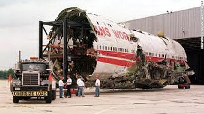 Xác máy bay Boeing 747-100 của hãng Trans World Airlines - Ảnh: CNN