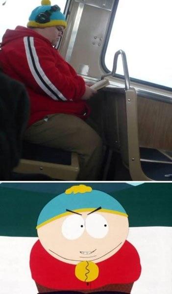 Eric Cartman của phim South Park.