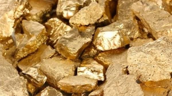 Hầu hết mọi hòn đá, cục đất đều có vàng nhưng do số lượng quá ít ỏi nên mắt thường không thể nhìn thấy.